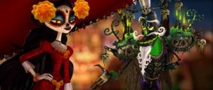 La mort et le mauvais esprit de La légende de Manolo