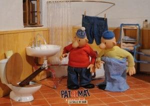 Pat et Mat dans leur Salle de bains