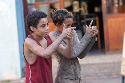 Rickson Tevez (Rafael) et Gabriel Weinstein (Rato)