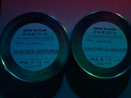 Deux bobines en 35mm!