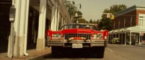 Don Johnson au volant de sa rutilante voiture