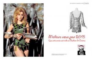 Jane Fonda porte un flingue et du Paco Rabanne dans Barbarella