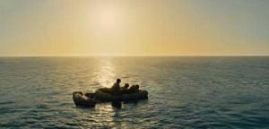 Zamperini et deux autres soldats dérivent pendant 45 jours dans l'Océan Pacifique