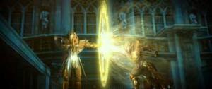 Combat de Chevaliers du zodiaque
