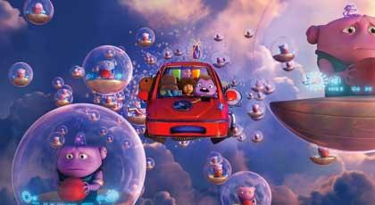 En route! un road movie cosmique