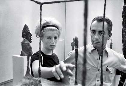 Monica Vitti et Michelangelo Antonioni - Expo Aux origines du Pop