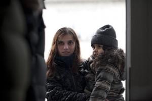 Klaudia Dudova et la petite dans Cesta Ven