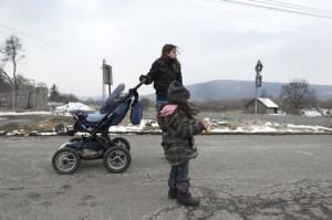 Klaudia Dudova et la petite