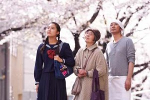 Les trois protagonistes des délices de Tokyo