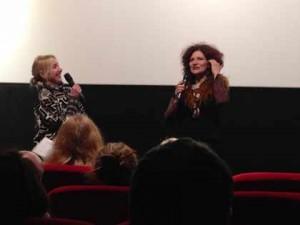 Maia Mazaurette et Tatjana Bozic lors de l'avant-première de Happily Ever After à Paris