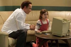 Steve Jobs/ Michael Fassbender et sa fille Lisa / Ripley Sobo