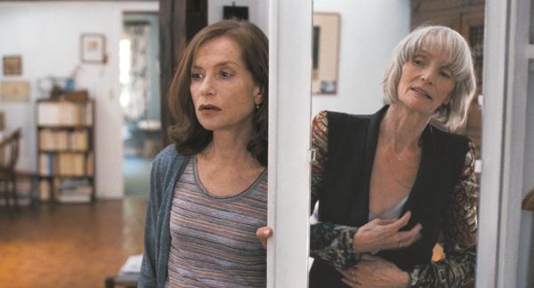 Isabelle Huppert et Edith Scob dans L'Avenir