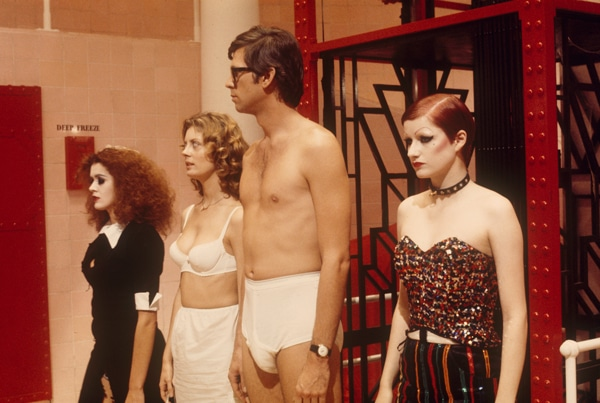 Janet et Brad dans The Rocky Horror Picture Show
