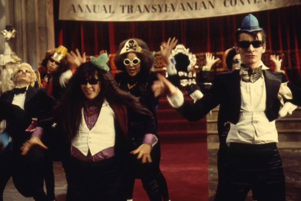 The Time warp in The Rocky Horror Picture Show