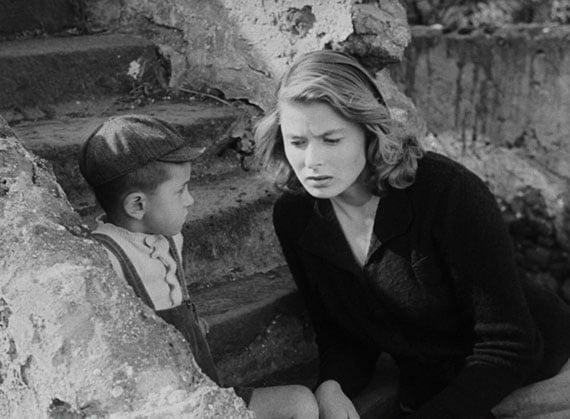 Ingrid Bergman dans Stromboli de Robert Rossellini - les choix de Madeleine Morgenstern