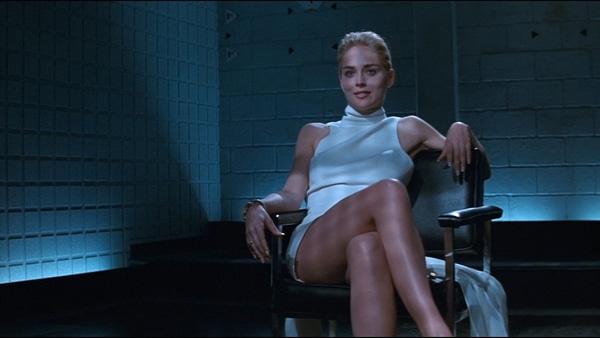 Sharon Stone dans Basic Instinct - les Tops 5 d'Anne Guimet