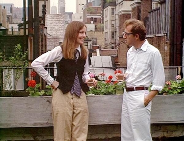 Diane Keaton dans Annie Hall de Woody Allen - les choix de Madeleine Morgenstern
