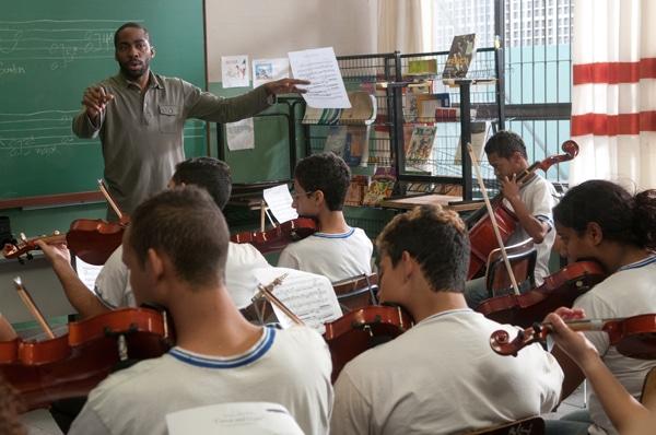 Le professeur de violon de Sergio Machado