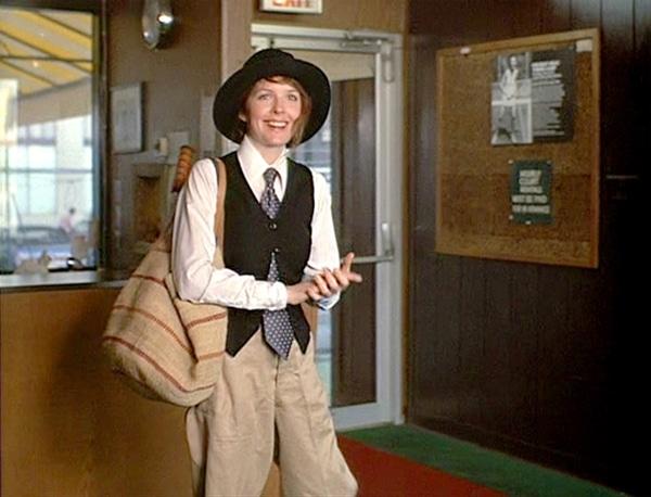 Diane Keaton dans Annie Hall de Woody Allen - les tops de Diastème