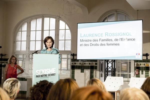 La ministre Laurence Rossignol annonce le plan d'action contre le sexisme