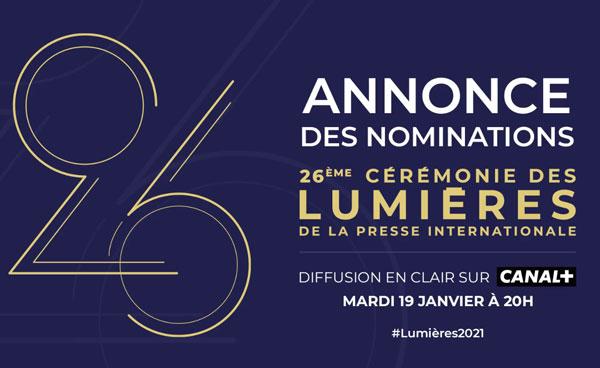 Les nominations des Lumières 2021 - cine-woman
