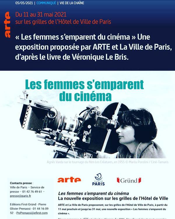 L'expo Les femmes s'emparent du cinéma - Cine-Woman